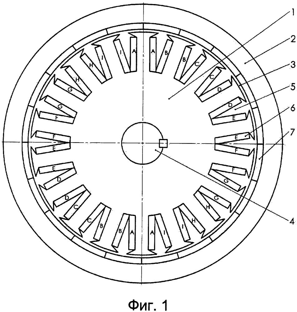 Модульная многофазная электрическая машина