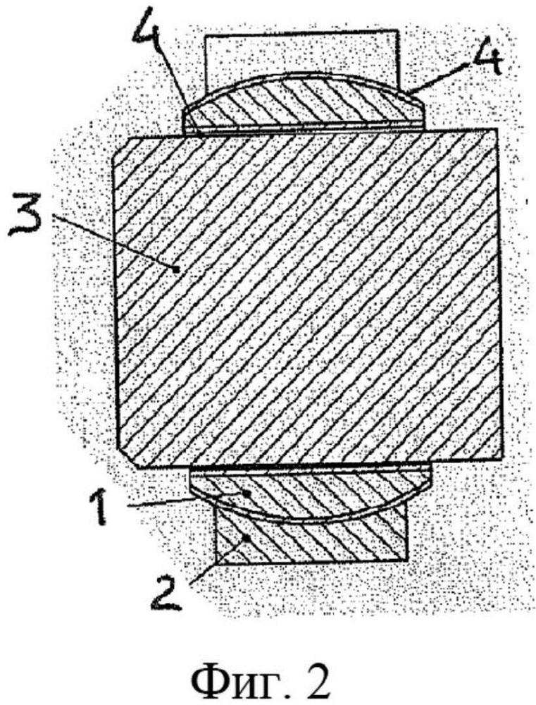 Самосмазывающийся шарнирный узел, выполненный c использованием композитного материала и эксплуатируемый при высоких динамических нагрузках