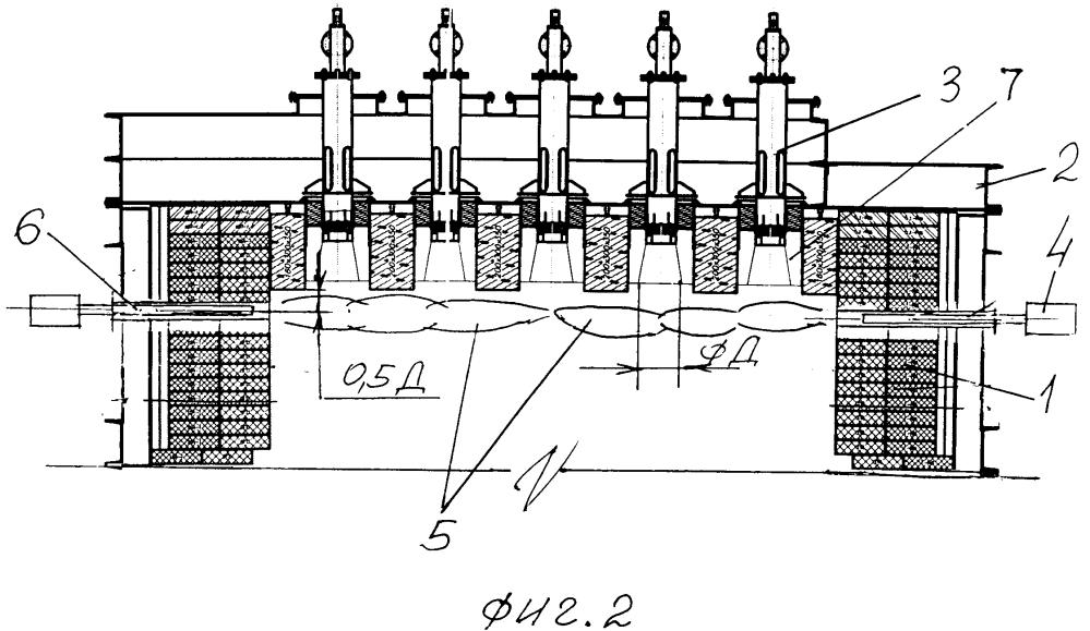Способ группового розжига сводовых горелок тепловых агрегатов