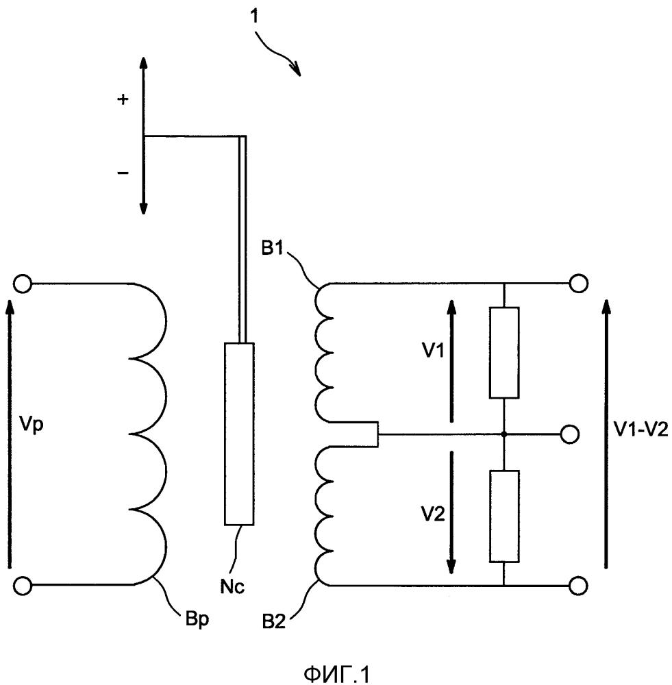Контроль датчика типа линейного переменного дифференциального трансформатора