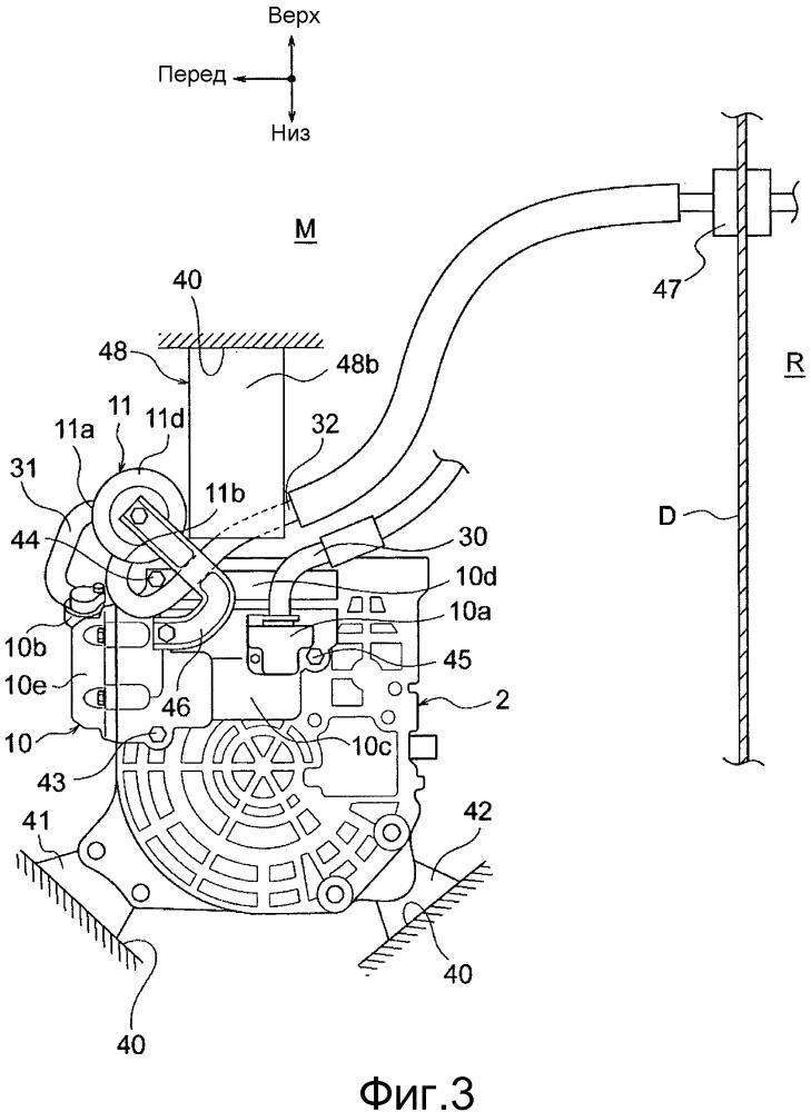 Устройство кондиционирования воздуха теплонасосного типа