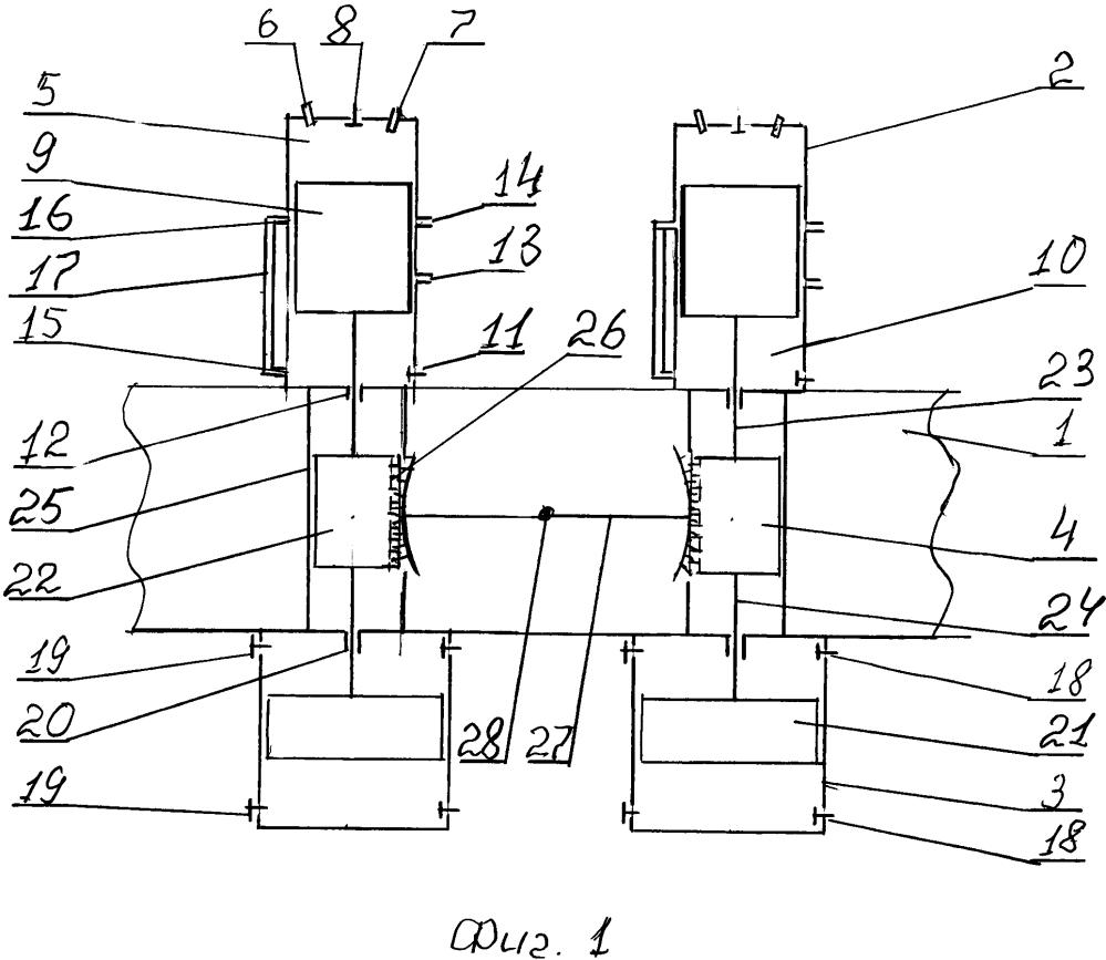 Многоцилиндровый свободнопоршневой мотокомпрессор