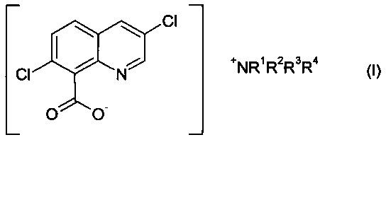 Растворимые жидкие составы аммониевых солей хинклорака