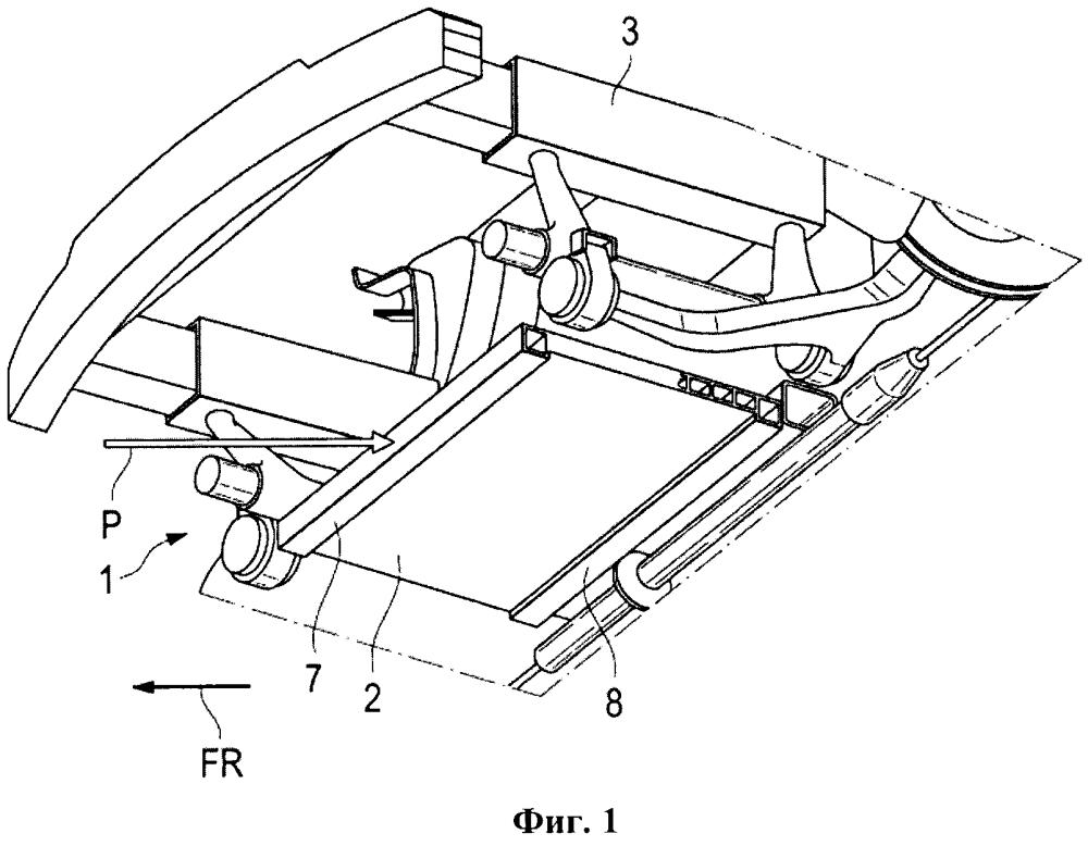 Структурный элемент для безрельсового транспортного средства