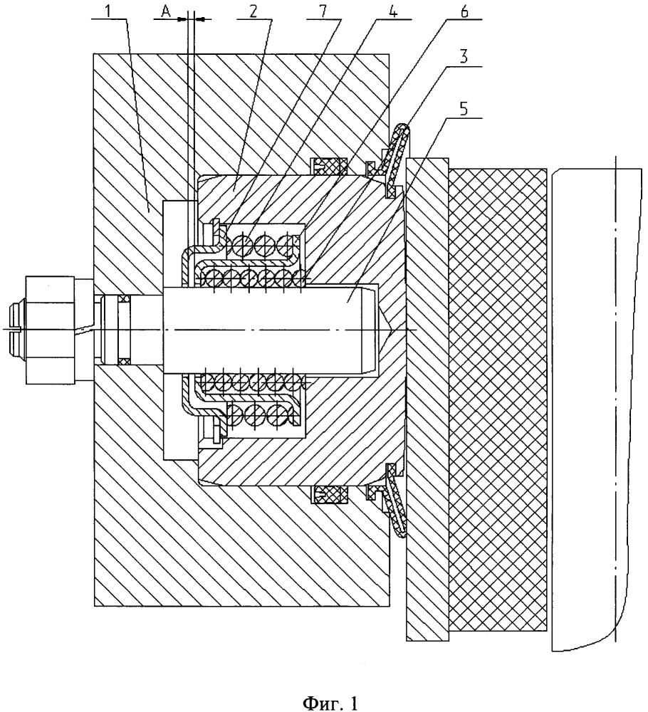 Автоматический компенсатор износа дискового тормоза