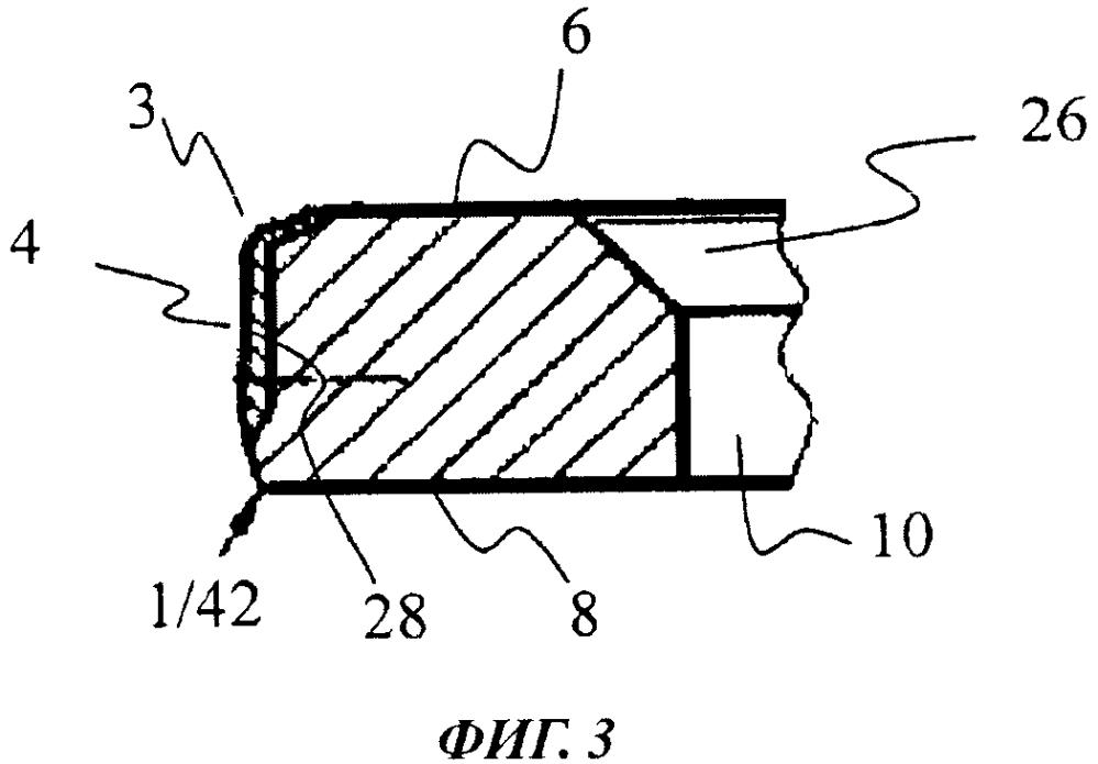 Поршневое кольцо с увеличенной усталостной прочностью для двигателя внутреннего сгорания и способ изготовления поршневого кольца