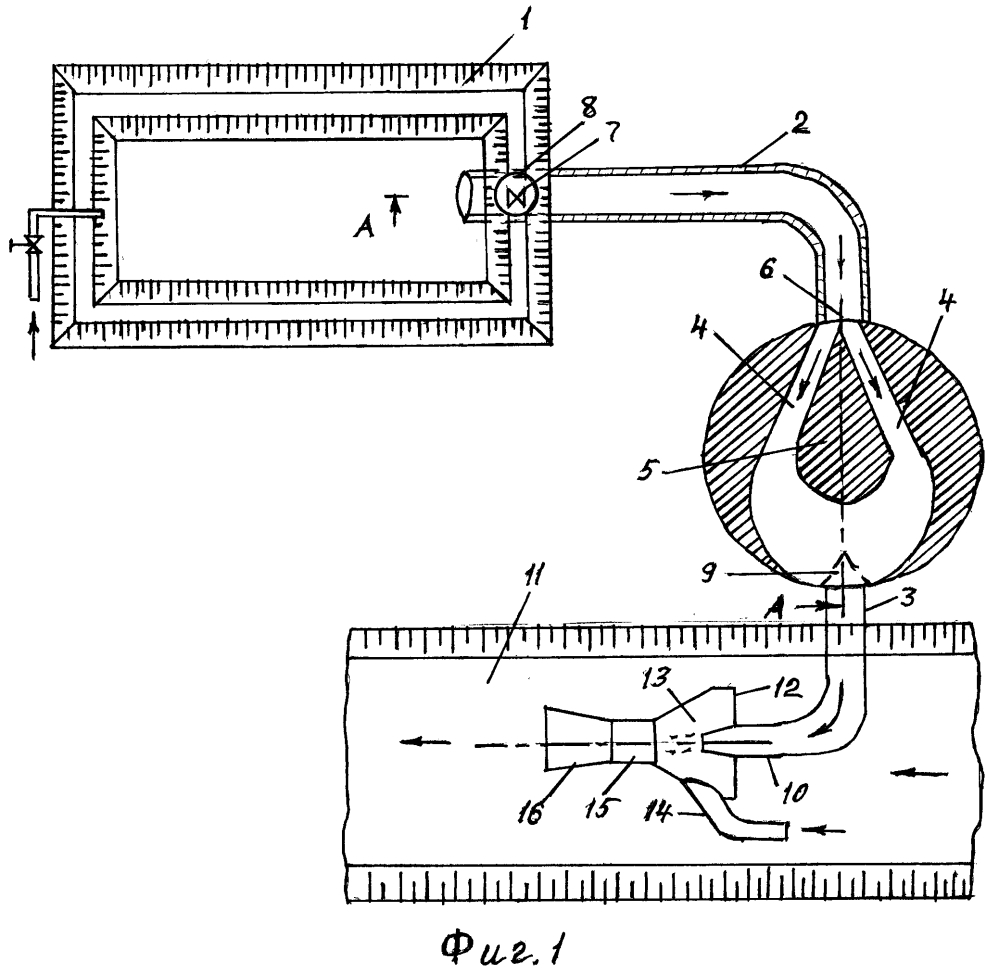 Устройство для выпуска очищенных животноводческих стоков в русловые водотоки