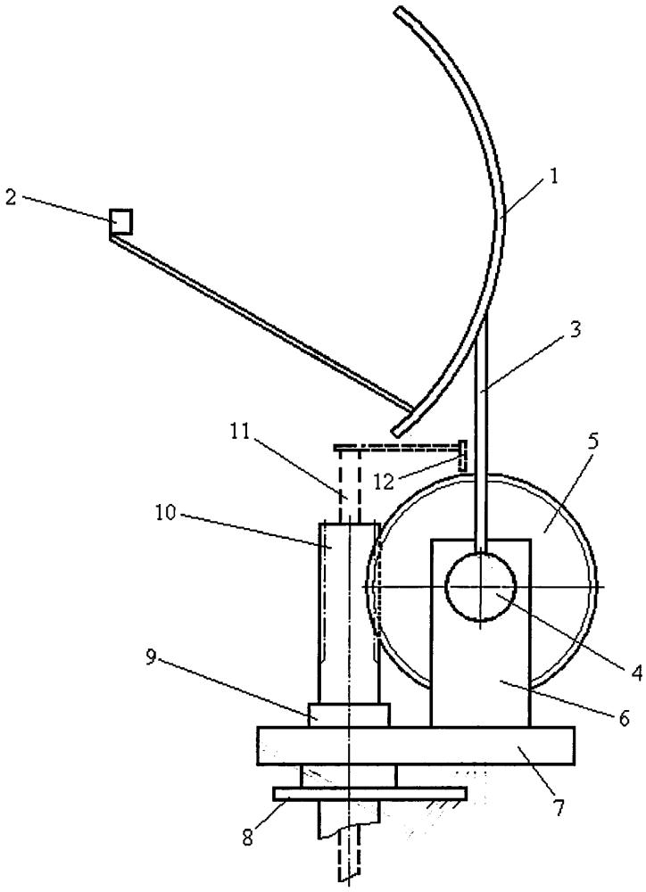 Механизм развертывания антенны