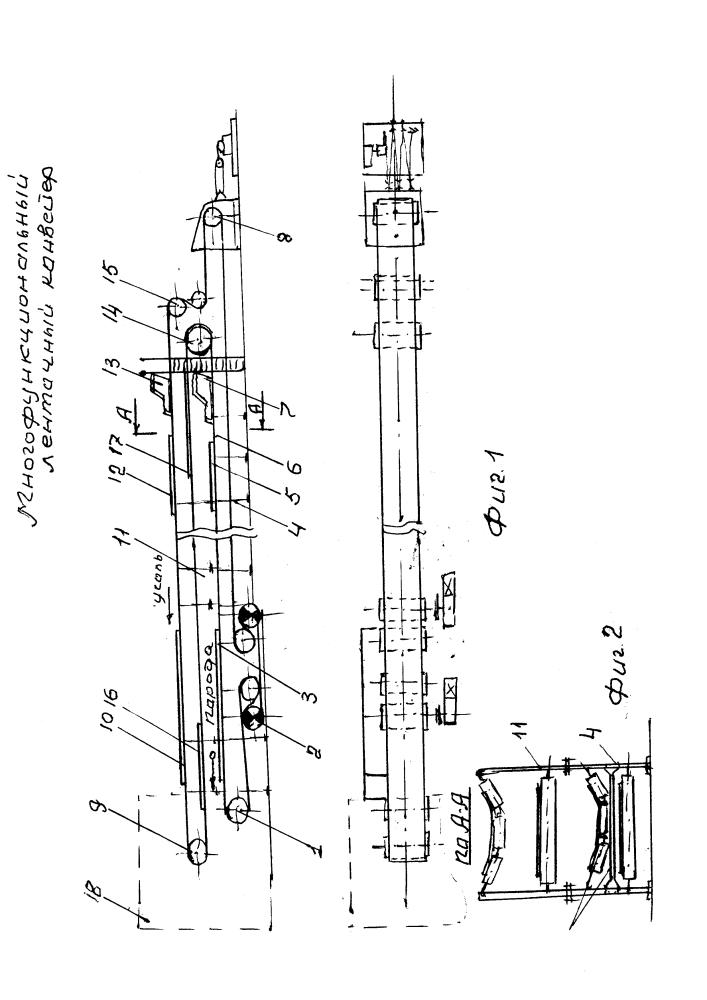 Многофункциональный ленточный конвейер