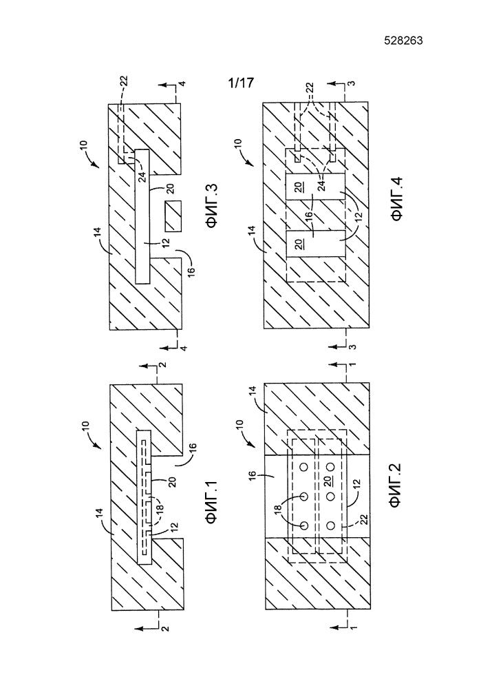 Формованная проточная для текучей среды структура