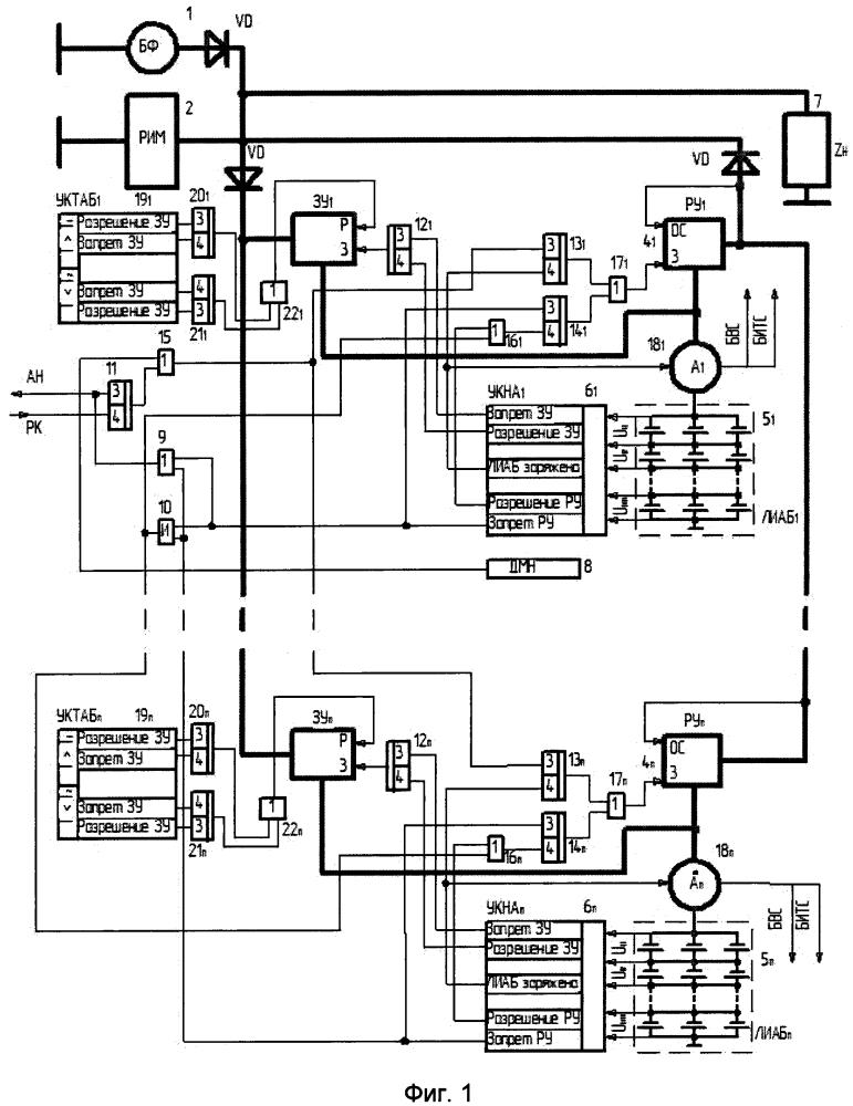 Способ управления системой электропитания космического аппарата с большим сроком активного существования