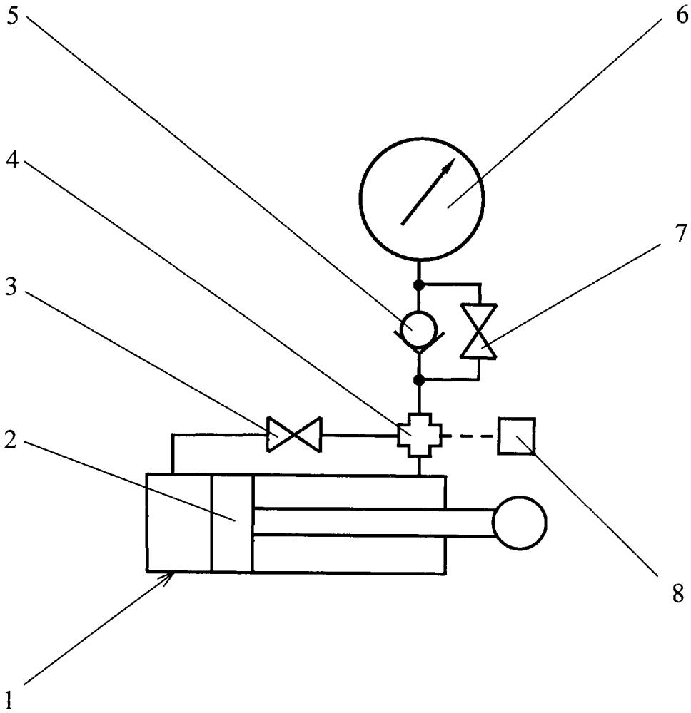 Гидроцилиндр для тяговых испытаний машин