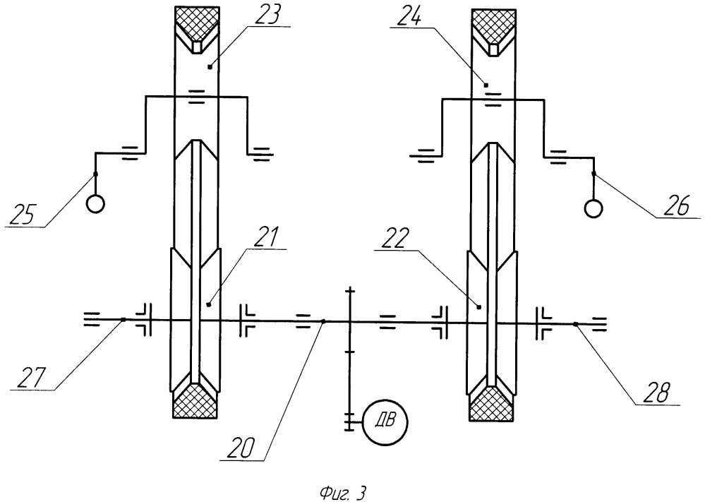 Муфта сцепления с бесконечным гибким замкнутым фрикционным элементом в составе одномуфтового и двухмуфтового приводов
