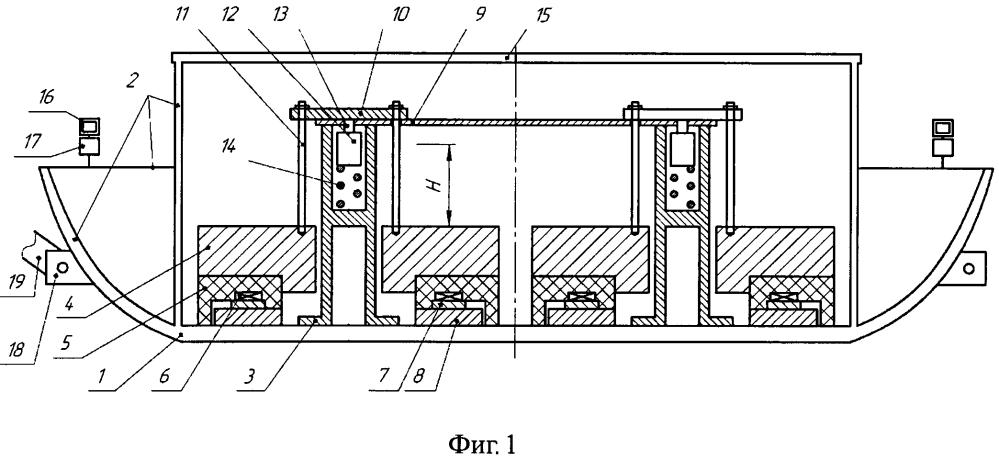 Импульсный санный сейсмоисточник с электромеханическим приводом