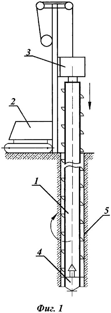 Способ монтажа охлаждающих устройств для температурной стабилизации многолетнемёрзлых грунтов, неустойчивых в стенках скважин