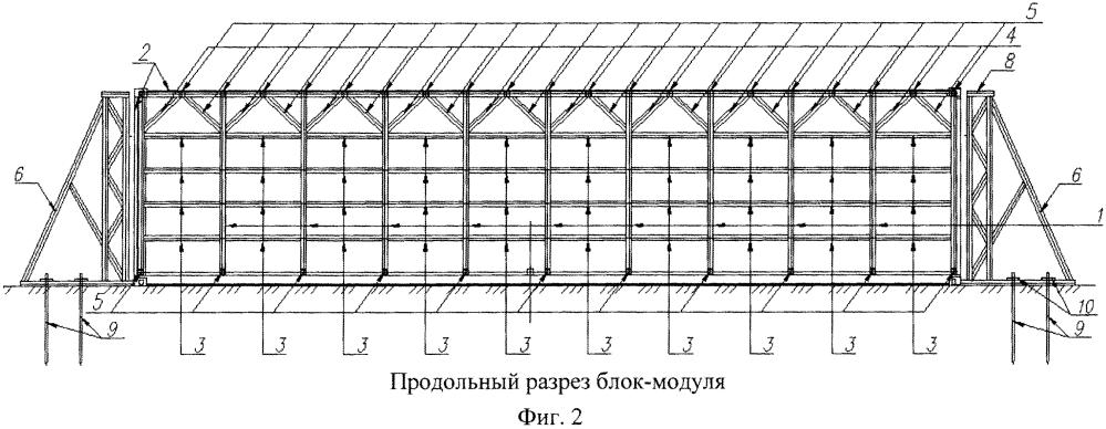 Защитное сооружение гражданской обороны блок-модульного типа полной заводской готовности