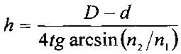 Способ определения толщины пленки с помощью интерферометрии белого света