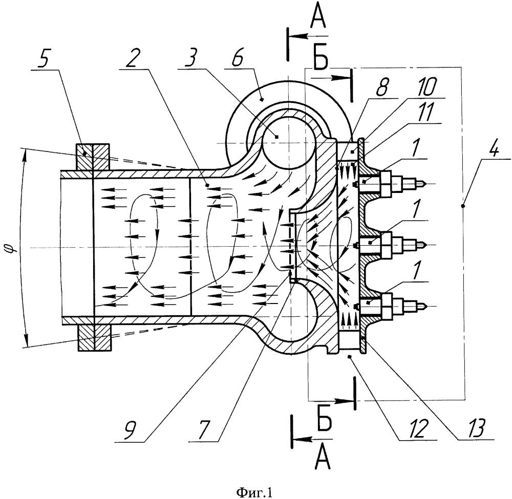 Устройство снижения выбросов в выхлопных газах двигателя внутреннего сгорания