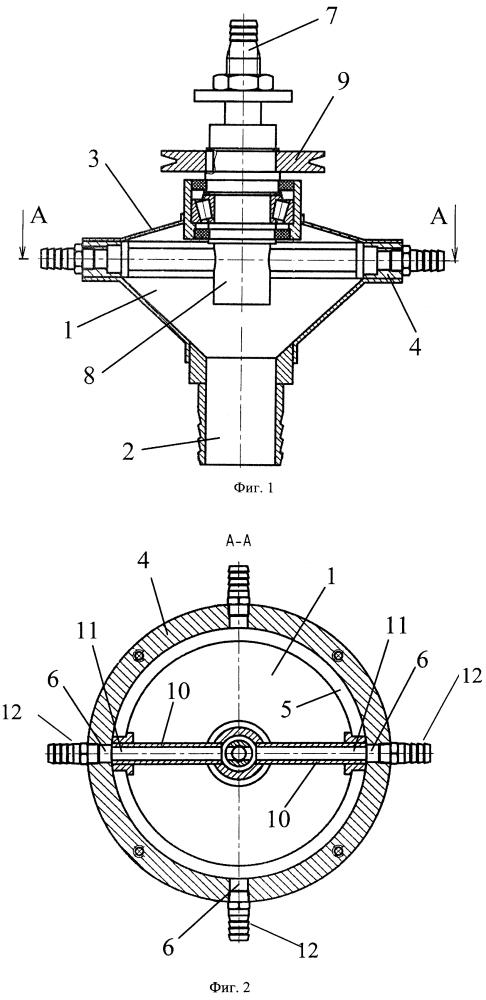 Делительная головка пневматической сеялки