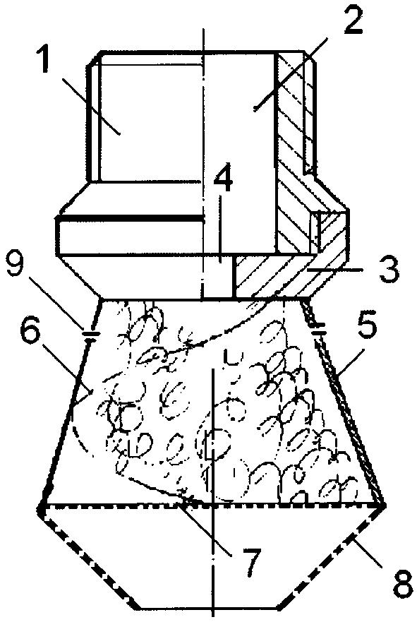 Рассекатель потока жидкости