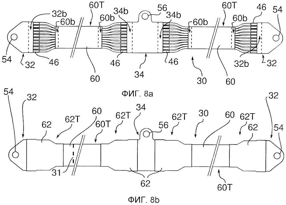 Соединительный проводной жгут для возвратного тока и способ его монтажа на раме композитного фюзеляжа