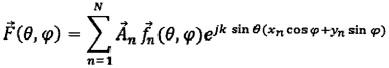 Способ определения амплитудно-фазового распределения в раскрыве фазированной антенной решетки