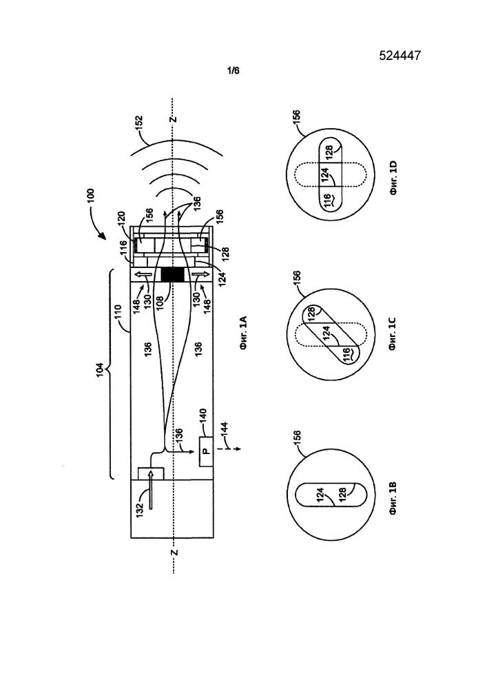 Устройство динамического управления вибрацией, системы и способы