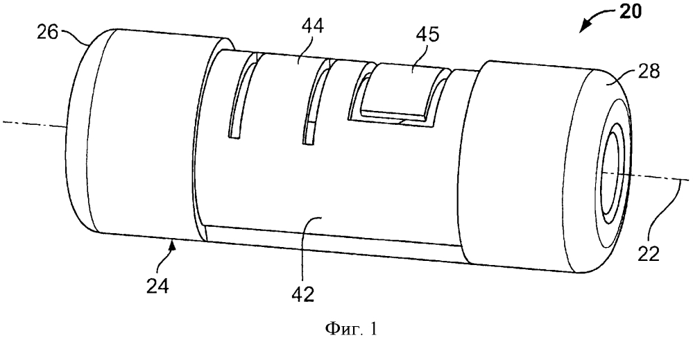 Волоконно-оптическая соединительная система с центрирующим устройством