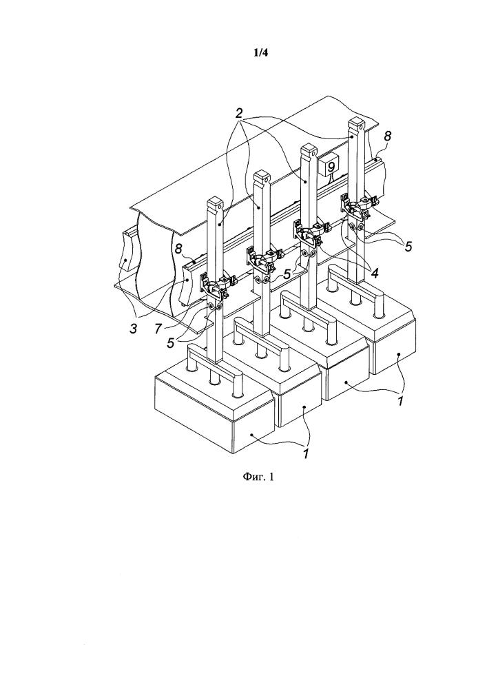 Устройство для определения токораспределения по анодам алюминиевого электролизера