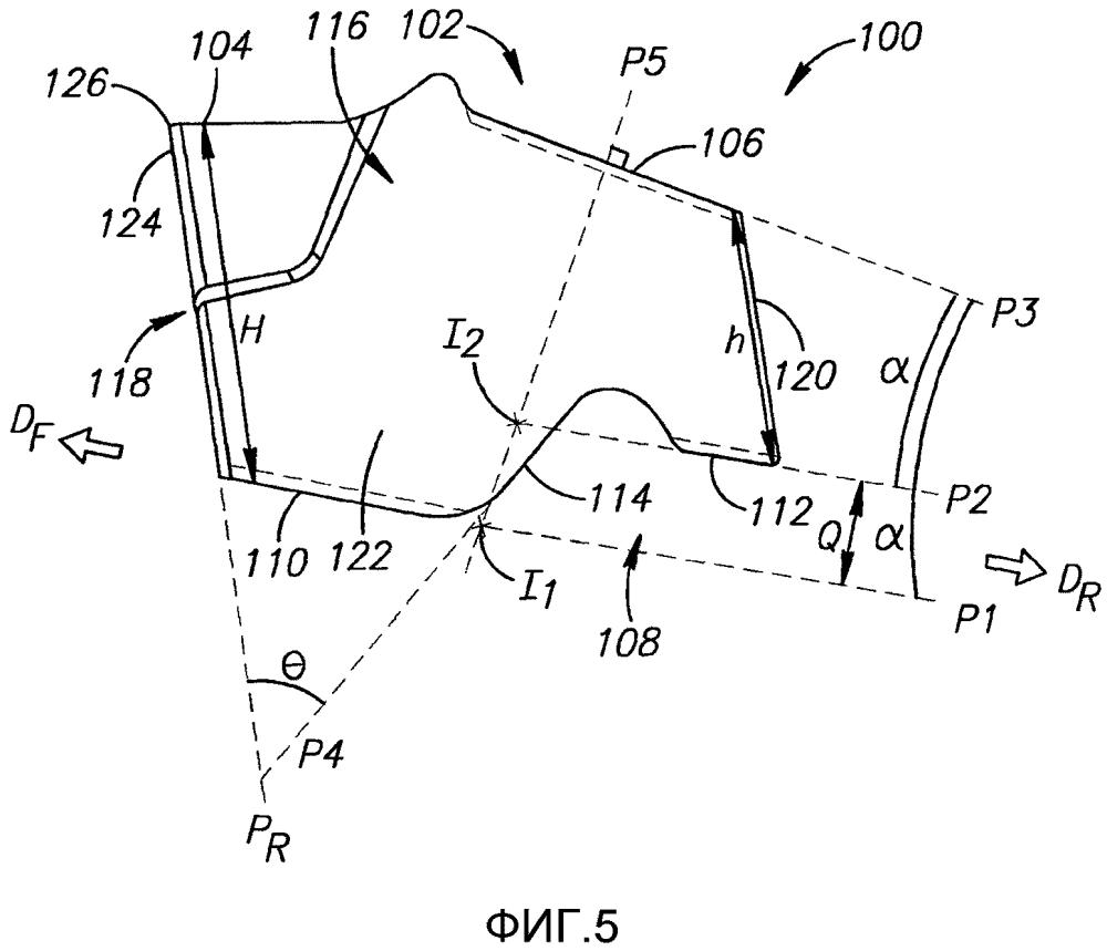 Режущий инструмент и режущая пластина со стопорной поверхностью