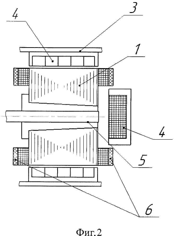 Устройство защиты от короткого замыкания высокотемпературного стартер-генератора обращённой конструкции