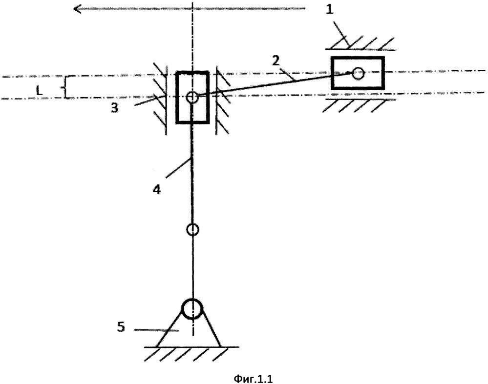 Кривошипно-двухползунный механизм риянова