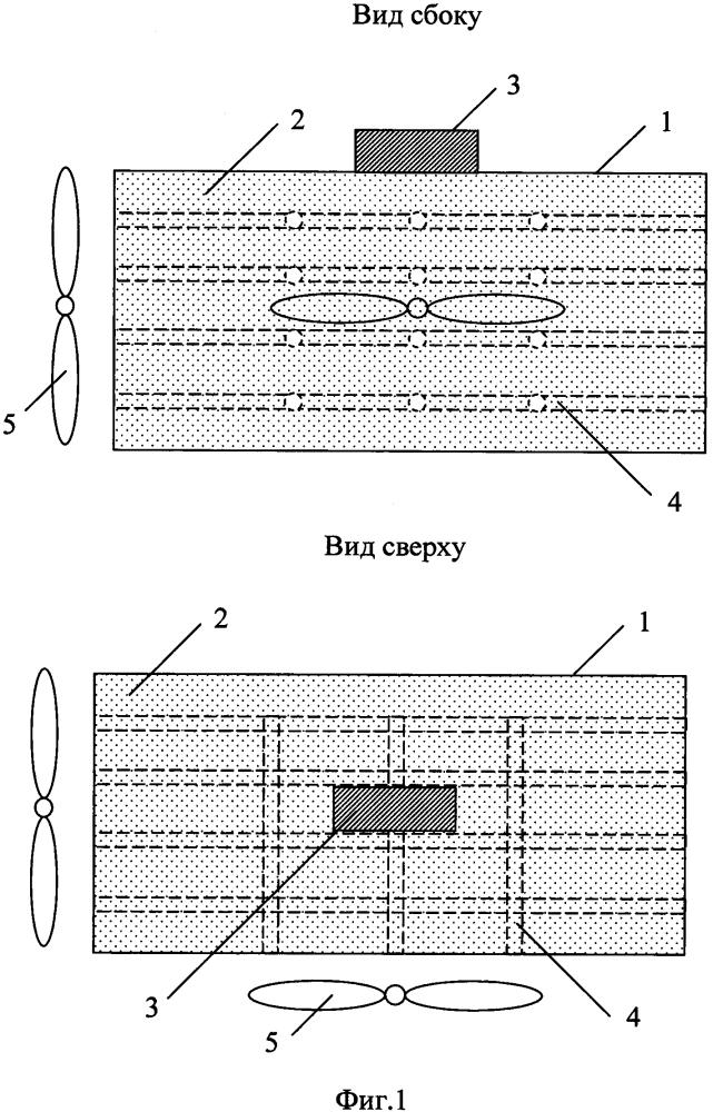 Устройство для отвода теплоты от элементов рэа, работающих в режиме повторно-кратковременных тепловыделений