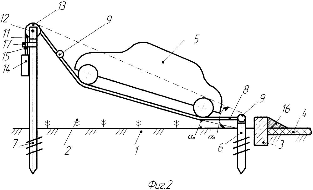 Устройство для парковки транспортных средств в условиях городской среды