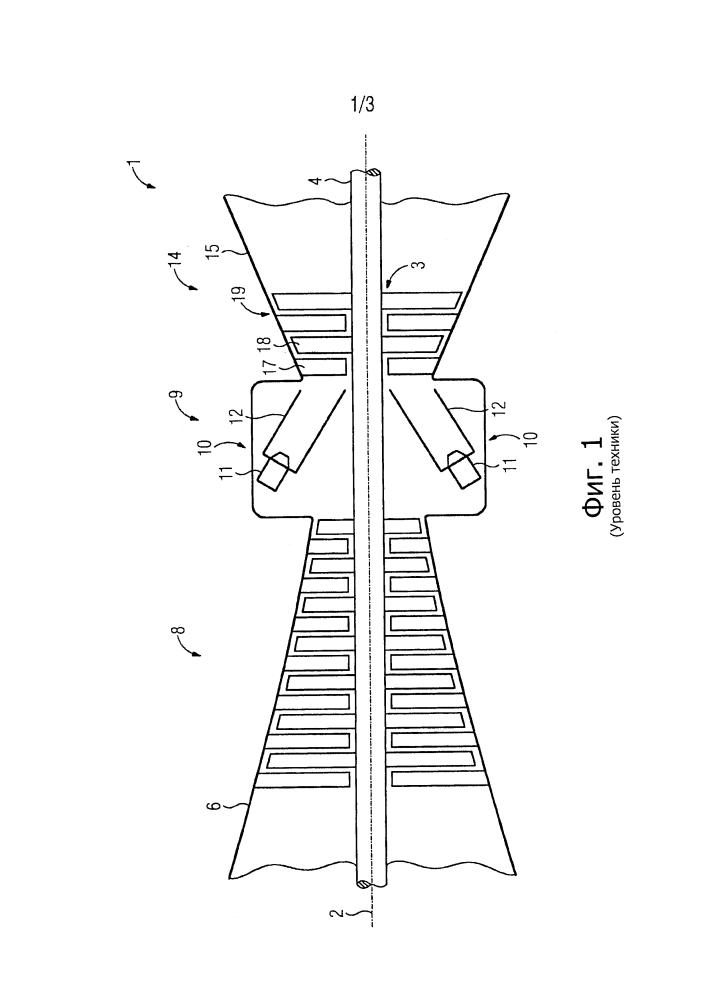 Удерживающий элемент для удерживания кирпича теплозащитного экрана и способ охлаждения несущей структуры теплозащитного экрана