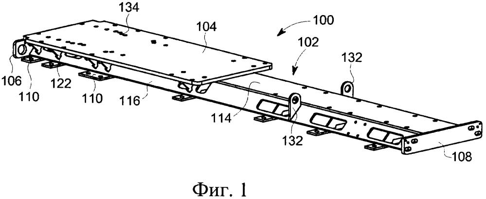 Горизонтальная насосная установка с изогнутой плитовой рамой