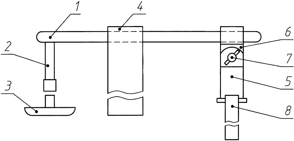 Устройство для осуществления гемостаза в пункционном отверстии бедренной артерии