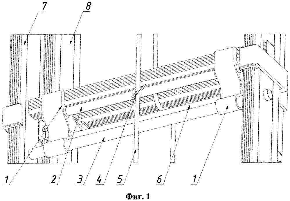 Фиксирующее устройство для удлиняющейся лестницы