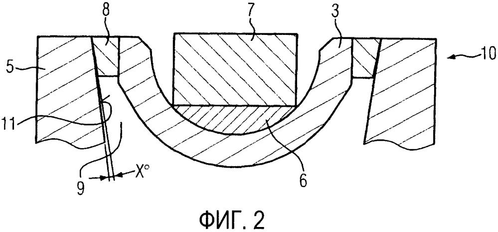 Устройство для испытаний керамического вкладыша для имплантатов в тазоберденный сустав