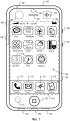Интерфейс пользователя для управления приложением мобильного устройства