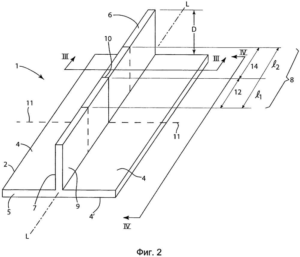 Трехмерный тканый угловой соединительный элемент с соединенными внахлестку заготовками