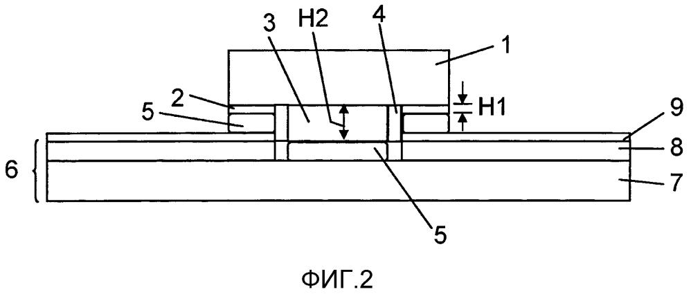 Полупроводниковый прибор для поверхностного монтажа