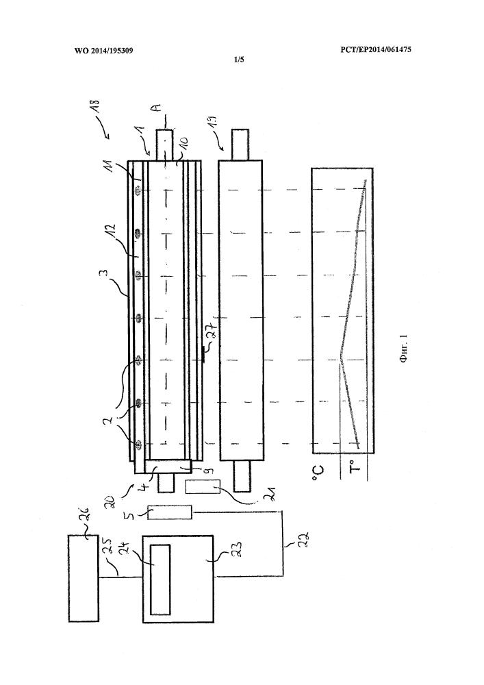 Парное соединение валков, измерительное устройство, установка для переработки продукта и способ