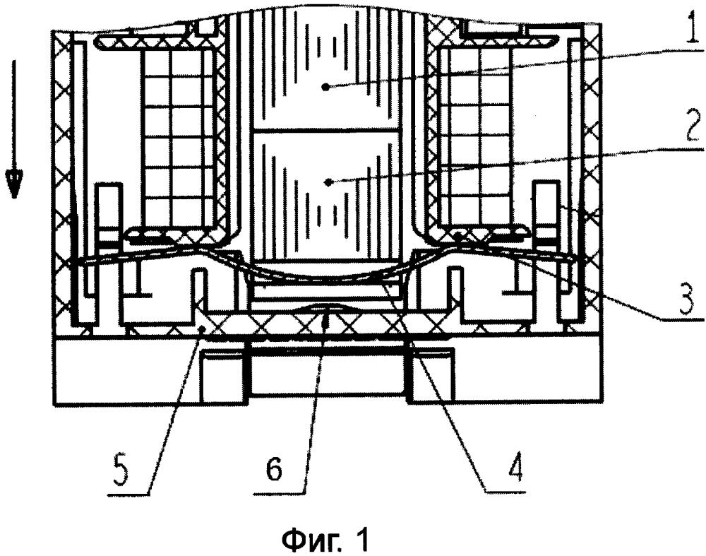 Электромагнитная система контактора