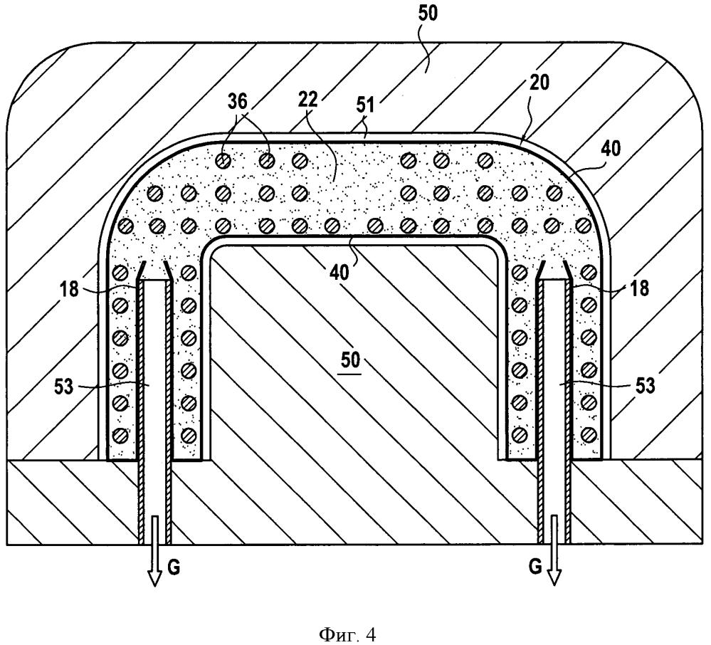Способ изготовления полой металлической детали посредством литья