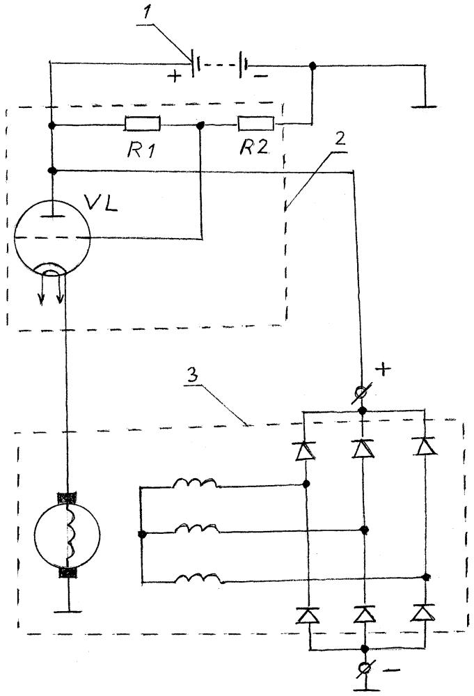 Автоматический регулятор тока возбуждения автомобильного генератора
