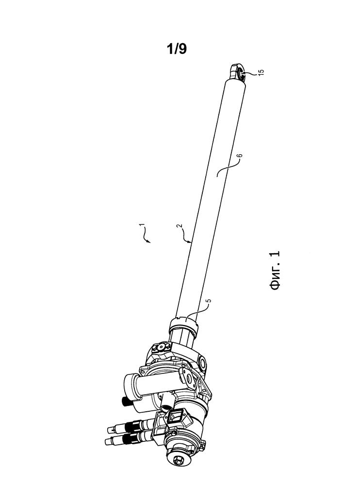 Приводное устройство для перемещения подвижного капота реверса тяги