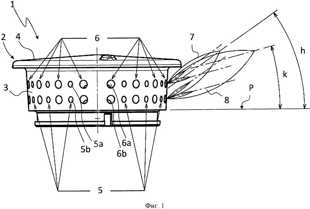 Горелка для газовой варочной панели