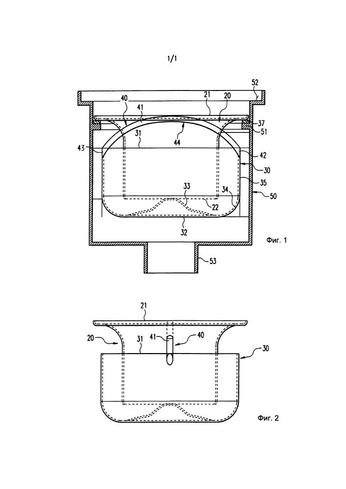 Сифон для сливного устройства для сточных вод