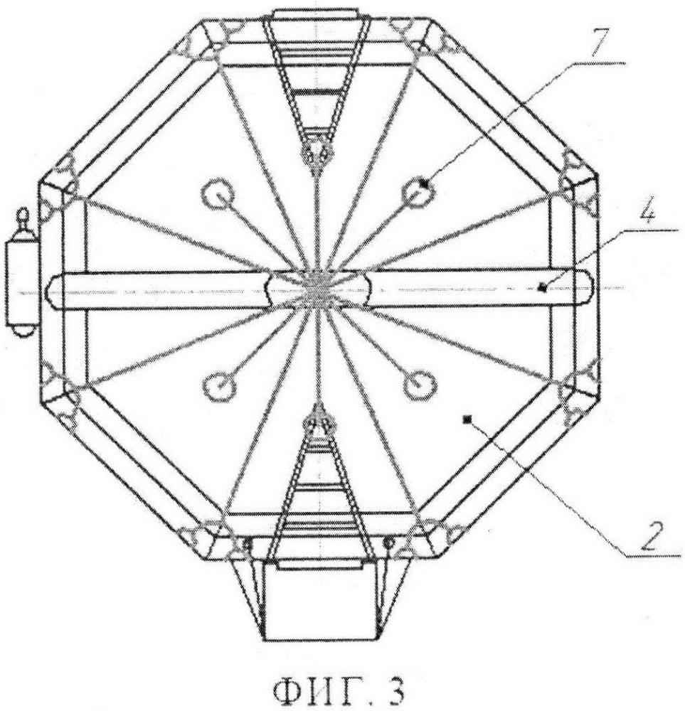 Плот надувной спасательный спускаемого типа
